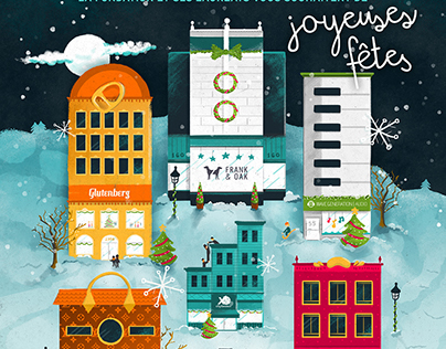Carte de Noël - Fondation Montreal Inc.