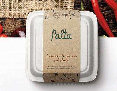 Palta · Brand Design Alternative B