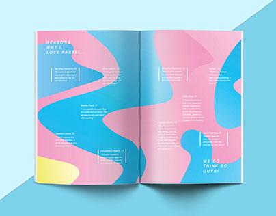 Magazine design: OPAQUE
