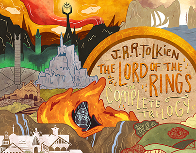 The Lord of the Rings / cover redesign