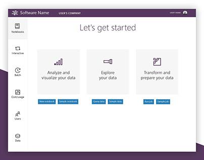 Big Data UI