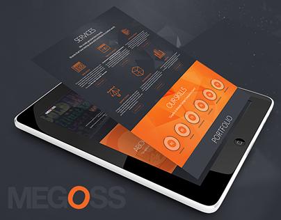 Megoss Parallax Website