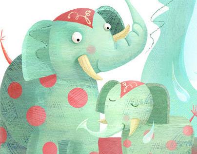 Elephant Bathtime