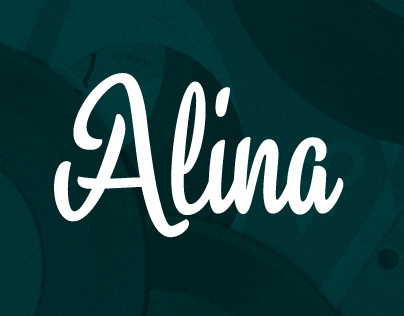 Alina typeface