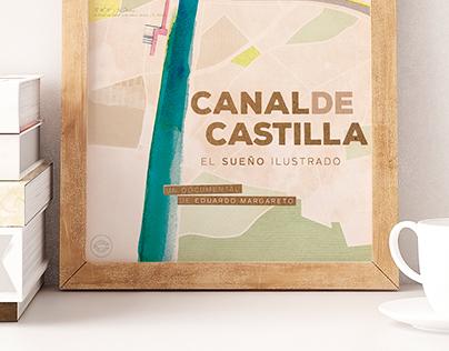 """Poster """"Canal de Castilla"""""""