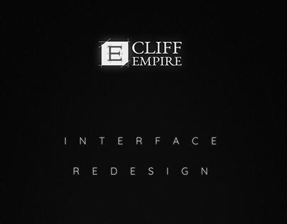 Cliff Empire – GUI redesign