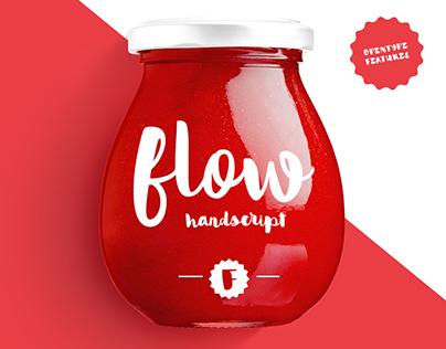 Flow Handscript / typeface