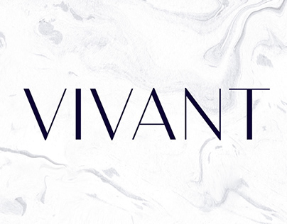 Bw Vivant display font
