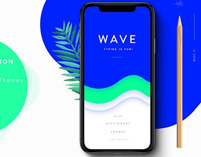 Wave - Typing App UI/UX