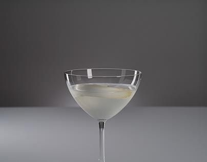 Asparagus Martini – Food Photography