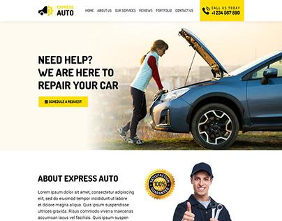 Car Repair Company - Website Design