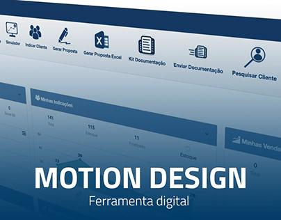 Motion Design - Ferramenta digital CrediPronto