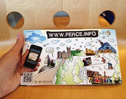 Accueil touristique de Percé (publicité)