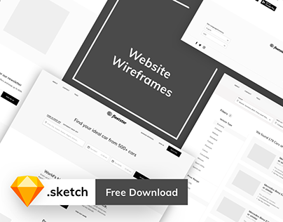 Website Wireframes - Free Download