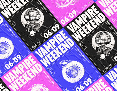 Vampire Weekend Poster Series