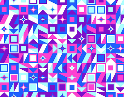 48 Abstract Geometrical Backgrounds