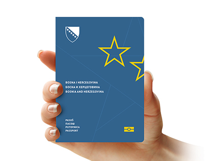 Bosnian Passport Redesign