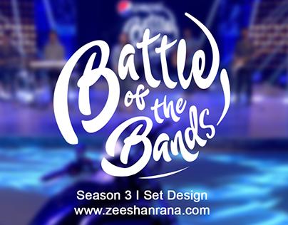 Pepsi Battle of the Bands Audition Set Design