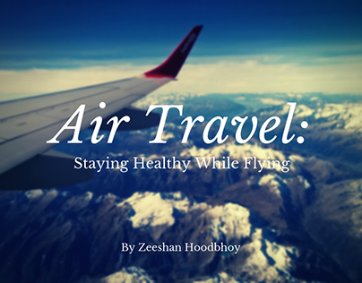 Air Travel: Staying Healthy While Flying
