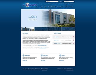 LA Turbine Website