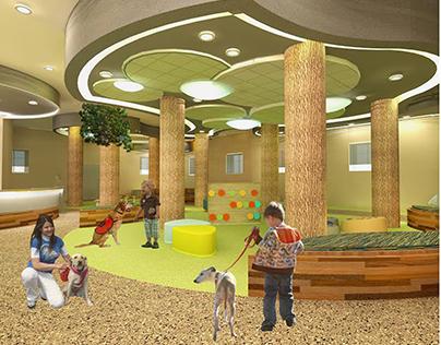 The Bridge: Autism Service Dog Center (Thesis)