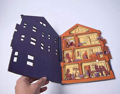 A Curious House | Pop-up Book