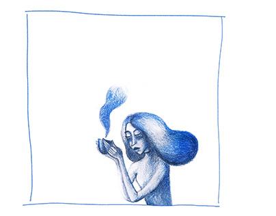 ANXIETY 2020 / sketchbook drawings