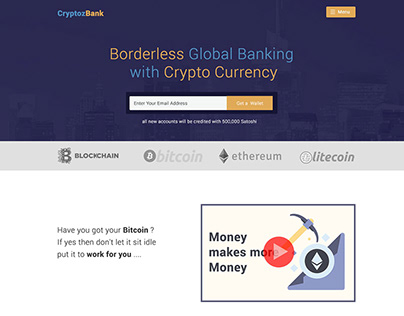 Crypto Bank – HYIP Template