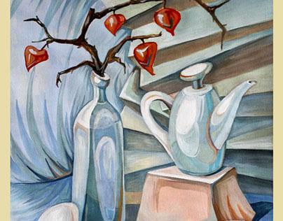 decorative still life \ декоративний живопис