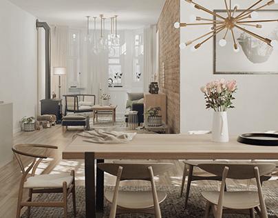Scandinavian room (UE5 - Lumen)