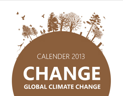 "Calendar - 2013 ""CHANGE - GLOBAL CLIMATE CHANGE"""