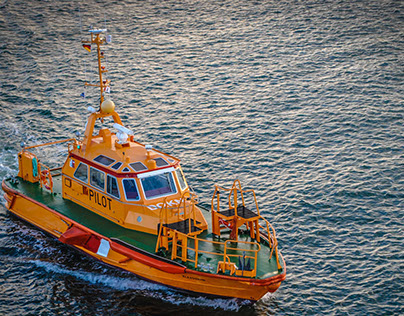 Photography: Baltic Sea Pilot Boats & Sunsets