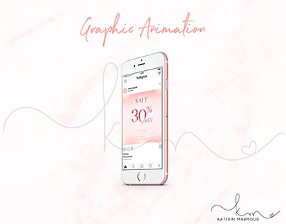 Graphic Animation for Instagram