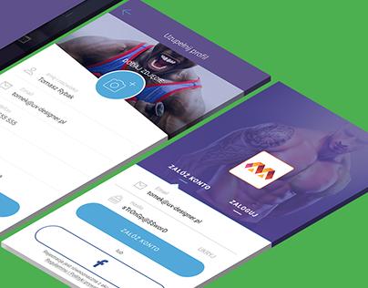 Metric Gym - mobile app