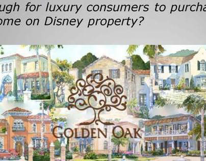 DISNEY GOLDEN OAK