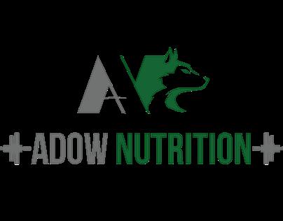 Adow Nutrition Logo