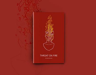 Throat on Fire, chapbook design