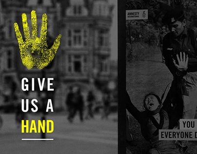 Give Us A Hand - Amnesty International