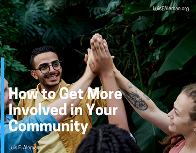 How to Get More Involved in Your Community