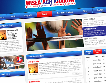Wisla Cracow - Volleyball