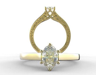 Custom Engagement Ring, 2015