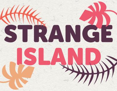 Strange island - alphabet story