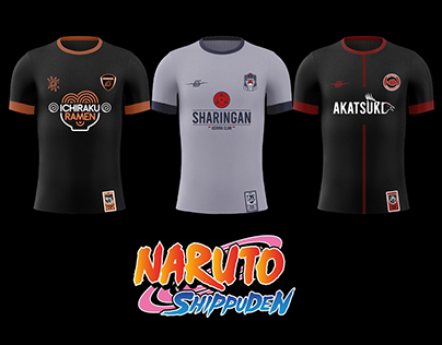 Soccer Jersey - NARUTO x COURIR