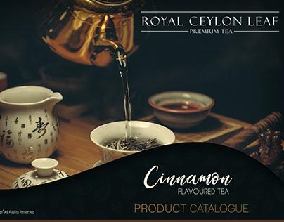 Branding | Royal Ceylon Leaf - Premium Tea