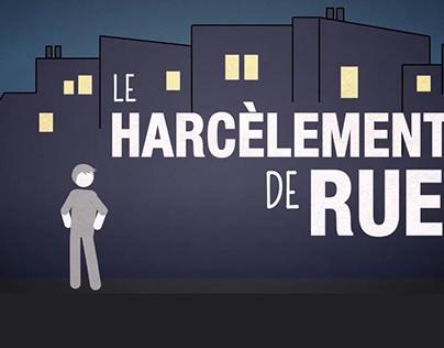 Harcèlement de rue (motion design)