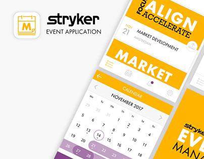 Stryker Event Application