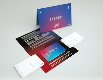 21shop Card & Package design
