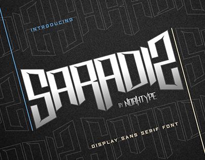 Saradiz Font