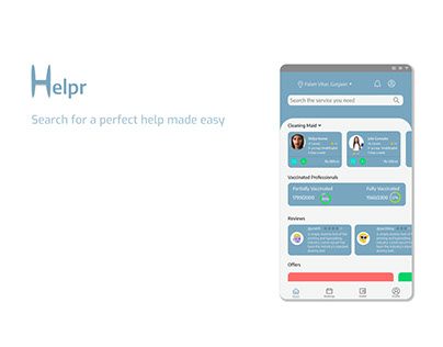 Helpr- Home Services App