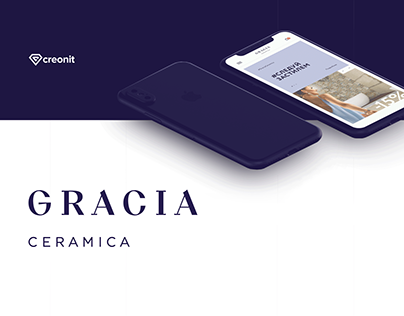 Gracia Ceramica Ecommerce (concept)